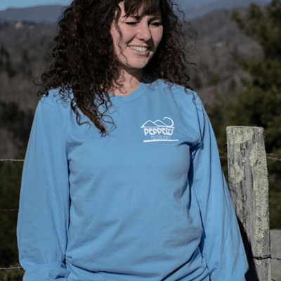 Pepper's Long Sleeve Blue